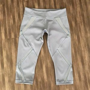 Brand New Lululemon Athletica Gray capri
